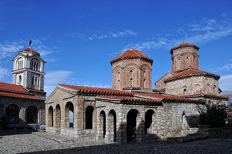 St. Naum Monastery in Ohrid, Macedonia