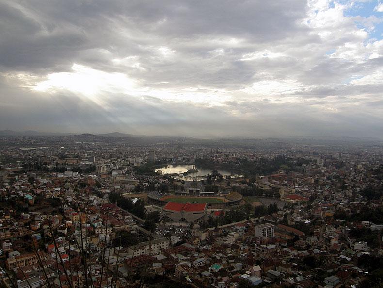 Lac Anosy in Antananarivo