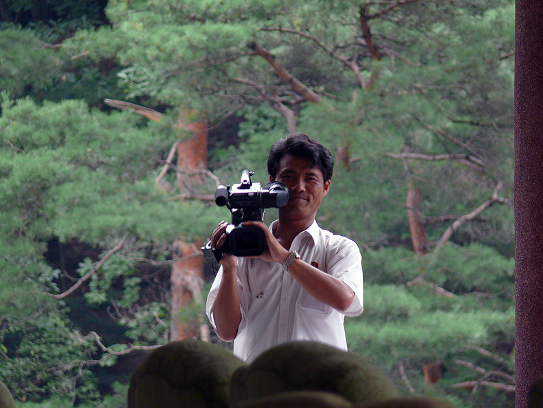 Our cameraman