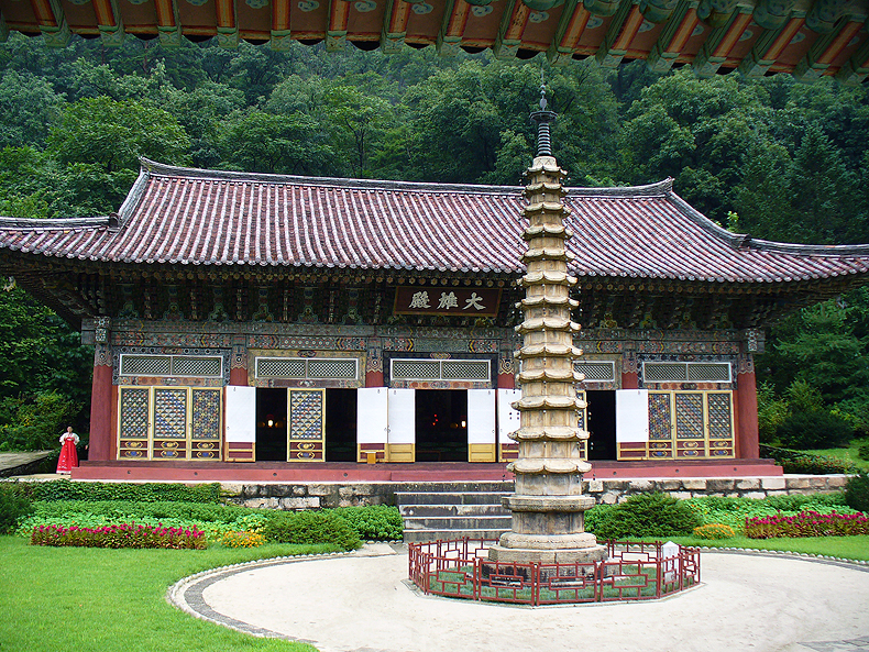 The Buddhist temple Pohyon