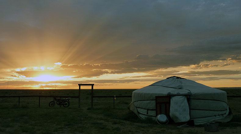Nomadic Ger, Mongolia