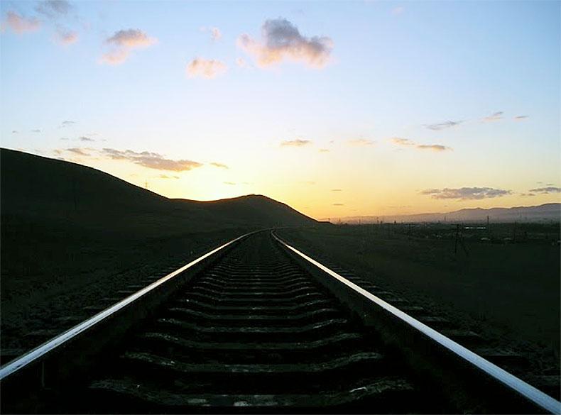 Transsib railroad