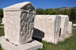 Stećci - Bosnian monumental medieval tombstones, Bosnia and Herzegovina