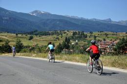 Cycling to Govedartsi -  Rila Family Adventure