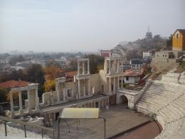 The Amphitheater, The Old Town of Plovdiv, Bulgaria